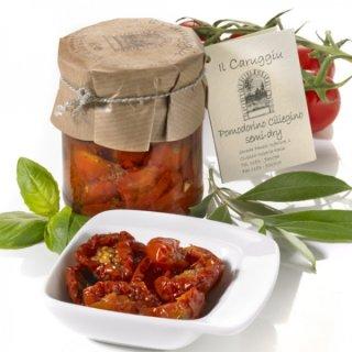 IL CARUGGIU: Pommodori ciliegini semi dry 180 g
