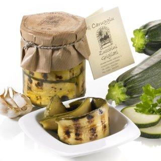 IL CARUGGIU: Zucchini Grigliate 180g